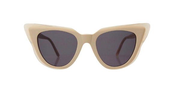 Emmanuelle sunglasses – cream – clear
