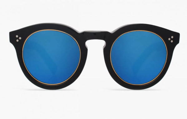illesteva-leonard-II-ring-black-with-blue-mirrored-lenses